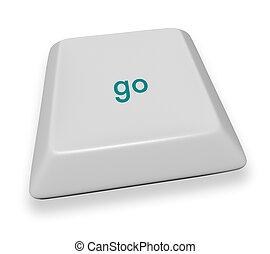 Computer Key - Go