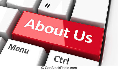 Computer keyboard about us