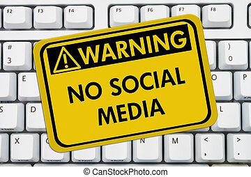 No accessing social media at work