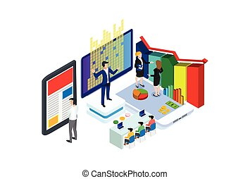 computer, laptop, business, internet, technology, 3d, isolated, concept, design, network, white, digital, web, mobile, isometric, communication, media, icon, cloud, tablet, electronic, house, connection, screen, information