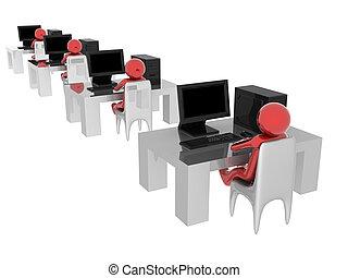 computer, lavorativo