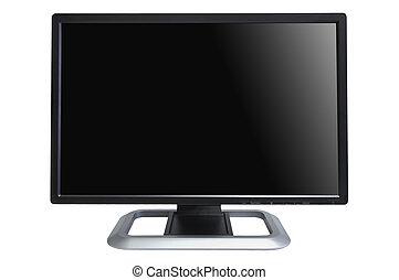 computer, lcd, monitor
