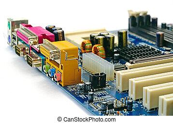 computer, mainboard