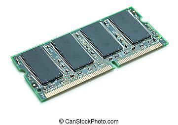 Computer memory module.