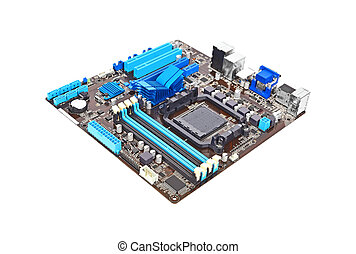 Computer motherboard - Printed computer motherboard,...