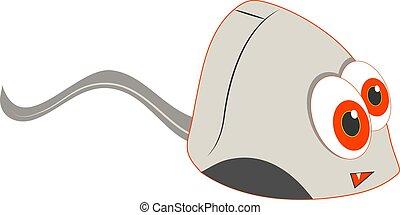 Computer Mouse - Cartoon computer mouse