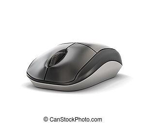 Computer mouse close-up