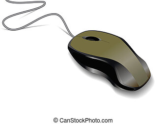Computer mouse.