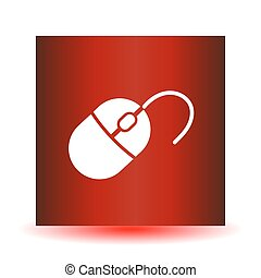 Computer mouse icon,