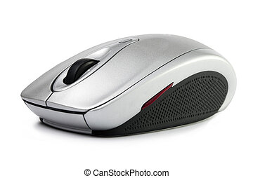 computer mouse on a white background