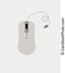 Computer Mouse Vector Object