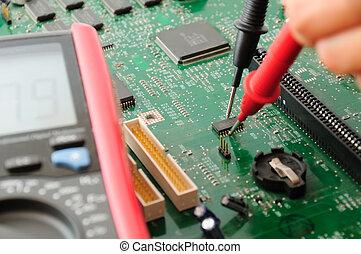 computer, opretholdelsen