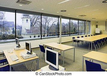 computer osztályterem