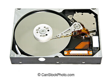 Computer part - Harddisk drive (HDD) without front cover...