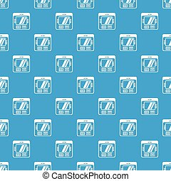 Computer pattern vector seamless blue repeat for any use