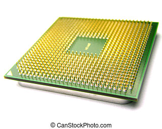 Close up of CPU pins