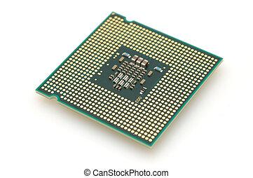Computer processor - Computer dual core processor in...