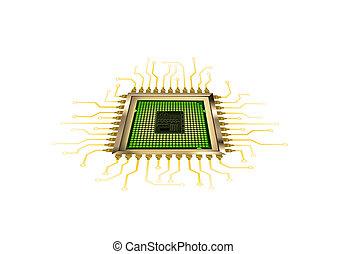computer, processor