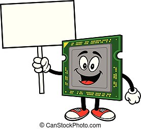 Computer Processor with a Sign