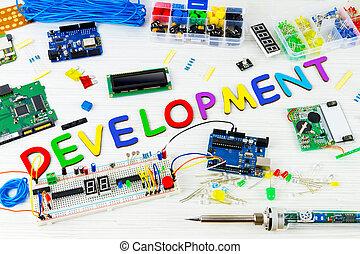 computer programma, microelettronica