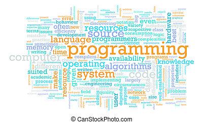 Computer Programming Code Concept as a Abstract