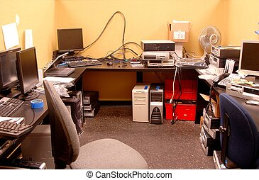 Computer Repair - Quite messy computer and PC repair room