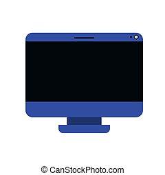 computer screen avatar character