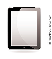 Computer screen tablet