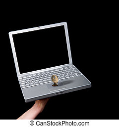 Computer Security - A key locking the mouse pad on a laptop...