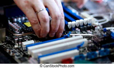 computer service - open socket