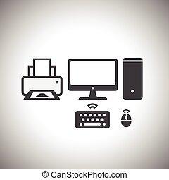 computer set icon