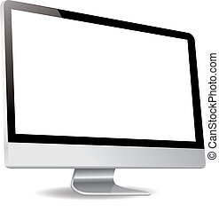 computer silde display screen