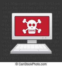 Computer Skull