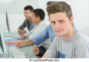 computer students