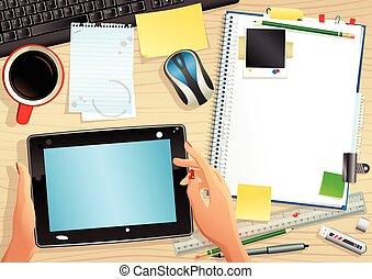 computer, tablet, desktop