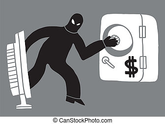 computer theft, hacker
