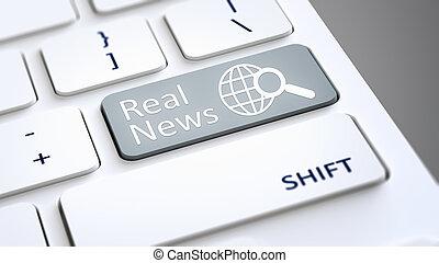 computer toetsenbord, echte, nieuws