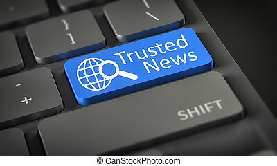 computer toetsenbord, trusted, nieuws