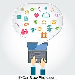 computer, vernetzung