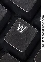 computer W key