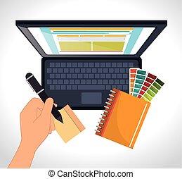 Computer web design