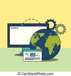 computer world website email digital marketing