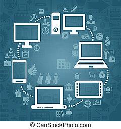 Computer4 - Information transfer through the computer. A ...