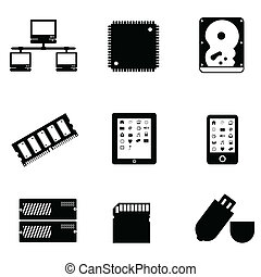 computerdelen, artikelen & hulpmiddelen