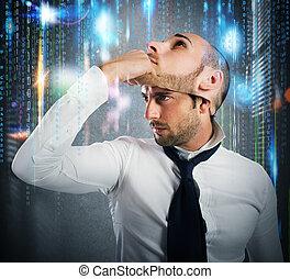 computerkraker, verandering, identiteit
