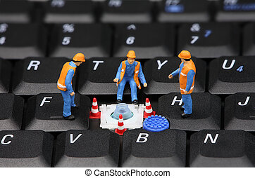 computerreparatur, begriff