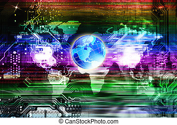 Computers globalization programming engineering technology