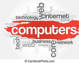 COMPUTERS word cloud