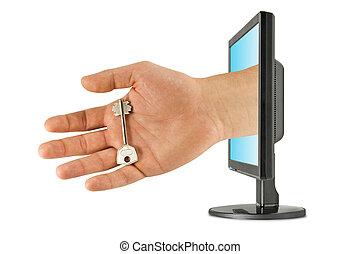 computersicherheit, technologie