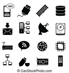 computertechnologie, iconen